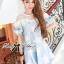 Lady Alexandra Minimal Chic Polka Dot Mini Dress =690.- บาท เดรสสั้น มินิเดรส เดรสน่ารัก ชุดเดรสสวยๆ แฟชั่นเกาหลีพร้อมส่ง เดรสสั้นเสื้อแขนยาวแบบเรียบๆกับกระโปรง Layer ลายจุด ตัวนี้เป็นลุคแบบเรียบๆในสไตล์ minimal แบบสาวเกาหลี เหมาะกับสาวที่ไม่ชอบแต่งตัวเยอ thumbnail 6