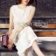 Lady Katy Smart Casual White Guipure Lace Jumpsuit L272-8917 thumbnail 2