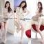 DR-LR-212 Lady Vivid Floral Lace Mini dress, Partysu Korea thumbnail 3