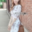 Lady Serena Smart Feminine Embroidered Cotton Dress L272-9914 thumbnail 8