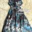 Korea Cocktail Dresses blue floral print by Aris Code thumbnail 13