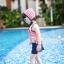 SMC-F1-037 ชุดว่ายน้ำแฟชั่น คนๆ/อ้วน เด็ก ดารา thumbnail 5