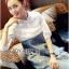Lady Coco Cotton White Shirt with Denim Skirt Dress L202-69B10 thumbnail 8