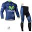 ชุดปั่นจักรยาน เสื้อปั่นจักรยาน และ กางเกงปั่นจักรยาน Movistar ขนาด XL thumbnail 1