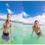 SM-V1-075 ชุดว่ายน้ำแฟชั่น คนอ้วน เด็ก ดารา thumbnail 3