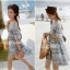 Lady Allo Hawaii Mini dress, Partysu Korea L135-59A09 thumbnail 4