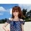 SM-V1-040 ชุดว่ายน้ำแฟชั่น คนอ้วน เด็ก ดารา thumbnail 3