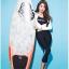 SM-V1-604 ชุดว่ายน้ำแขนยาว ขายาว5ส่วน เซ็ต 4 ชิ้น เสื้อแขนยาว+บิกินี่+เสื้อกล้ามสีดำ+กก.ขายาว thumbnail 2