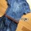Lady Alison Sporty Elegant Embellished Denim Pantsuit wit Belt L199-95C07 thumbnail 14
