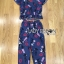 Lady Taylor Street Chic Fashionable Printed Soft Denim Set L262-7502 thumbnail 17