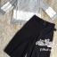 Korean lace print two-piece leg trousers by Aris Code thumbnail 14