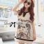 DR-LR-112 Lady Pamela Graphic Chic Black and White Linen Dress thumbnail 6