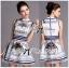 Lady Mary Royal Haute Couture Print Dress thumbnail 1