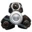 HF058-1 Hand spinner - GYRO (ไจโร) -Fingertip Gyroscope โลหะ รุ่น ROBOT Black thumbnail 1