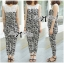 DS-PP-035 Lady Margaret Casual Chic Graphic Print Lace Jumpsuit thumbnail 12