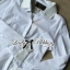 DR-LR-106 Lady Yuri All White Glam Chic Shirt Dress thumbnail 14