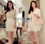 Lady Angelica Pure White Flower Embroidered and Embellished Chiffon Dress L204-79C04 thumbnail 2