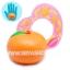 CA751 สกุชชี่ ส้ม CONNIE (super soft) ขนาด 7 cm ลิขสิทธิ์แท้ thumbnail 1