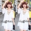 DR-LR-222 Temperley London Giovanna Embellished White Tunic Dress thumbnail 15
