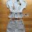 Lady Amanda Smart Minimal Belted Top and Shorts Set L259-7920 thumbnail 16