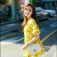 มินิเดรสลายดอกเดชี่ทรงแขนตุ๊กตาจับสม๊อคเข้ารูปเอวเล็กๆๆ thumbnail 3