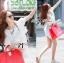 lady Charlotte Little White Lace Off-shoulder Mini Dress L156-49A05 thumbnail 4
