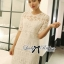 DR-LR-157 Lady Rebecca Classic Lace Dress in White thumbnail 3