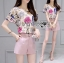 Lady Leslie Playful Chic Painting Printed Top and Shorts Set L263-6915 thumbnail 7