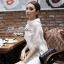 Lady Audrey White Mini Dress thumbnail 6