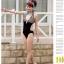 SM-V1-186 ชุดว่ายน้ำแฟชั่น คนอ้วน เด็ก ดารา thumbnail 7