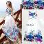Maxi Dress เดรสดอกไม้สีสันสดใส thumbnail 3