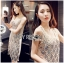 Lady Natalie Glittery Sequin Cocktail Mini Dress L220-69C02 thumbnail 4