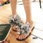 รองเท้าแตะทึ่สาวๆเห็นแล้วต้องเลิฟ สายคาดโบว์ใหญ่ thumbnail 3
