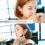 ต่างหูมุก ดาราเกาหลีใส่ thumbnail 5