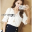 Lady Sophie Sweet Feminine Laser-Cut and Embroidered Top L265-6521 thumbnail 7