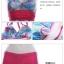 SM-V1-359 ชุดว่ายน้ำทรงชุดแซก สีฟ้า-ชมพู ลายดอกไม้ (ชุดแซก+กางเกงขาสั้น) thumbnail 12