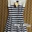 DR-LR-194 Lady Suzi Basic Chic Striped Mini Dress thumbnail 8