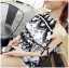 DS-PP-039 Lady Ashley Printed Playsuit in Black and White thumbnail 7