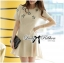 DR-LR-092 Lady Eva Sweet Perfect Embellished Flower Mini Dress thumbnail 6