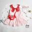 Lovely Crab Dress ชุดเดรสเด็กสีแดง thumbnail 9