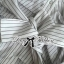 Lady Emily Basic Striped Shirt Dress in White thumbnail 8
