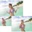 SM-V1-075 ชุดว่ายน้ำแฟชั่น คนอ้วน เด็ก ดารา thumbnail 7