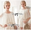 DS-PP-019 Lady Beatrice Pretty Sweet Layered Chiffon Lace Jumpsuit thumbnail 4