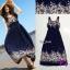 Maxi Dress แมกซี่เดรสตัวยาวแขนกุด thumbnail 1