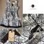DR-LR-087 Lady Avril Minimal Chic Swirl Print Dress thumbnail 13