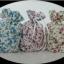 แก้วเป๊กลายหมีถุงผ้าดอกไม้ thumbnail 1