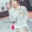 Lady Grace Minimal Chic Colourful Embroidered White Shirt and Shorts Set L257-85C07 thumbnail 3