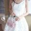 Lady Diana Pure Sexy Spaghetti Strap Lace Dress L198-69B06 thumbnail 4