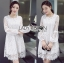 Lady Feona Classic Feminine Lace and Chiffon Dress L246-75C05 thumbnail 10
