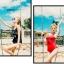 SM-V1-646 ชุดว่ายน้ำวันพีชเสื้อกล้าม สีดำ BROOKLYN_4 thumbnail 9